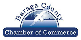 baraga county chamber of commerce logo